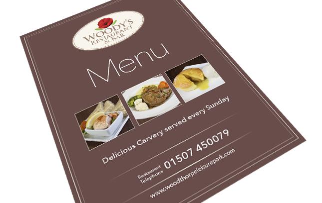 woodys menu