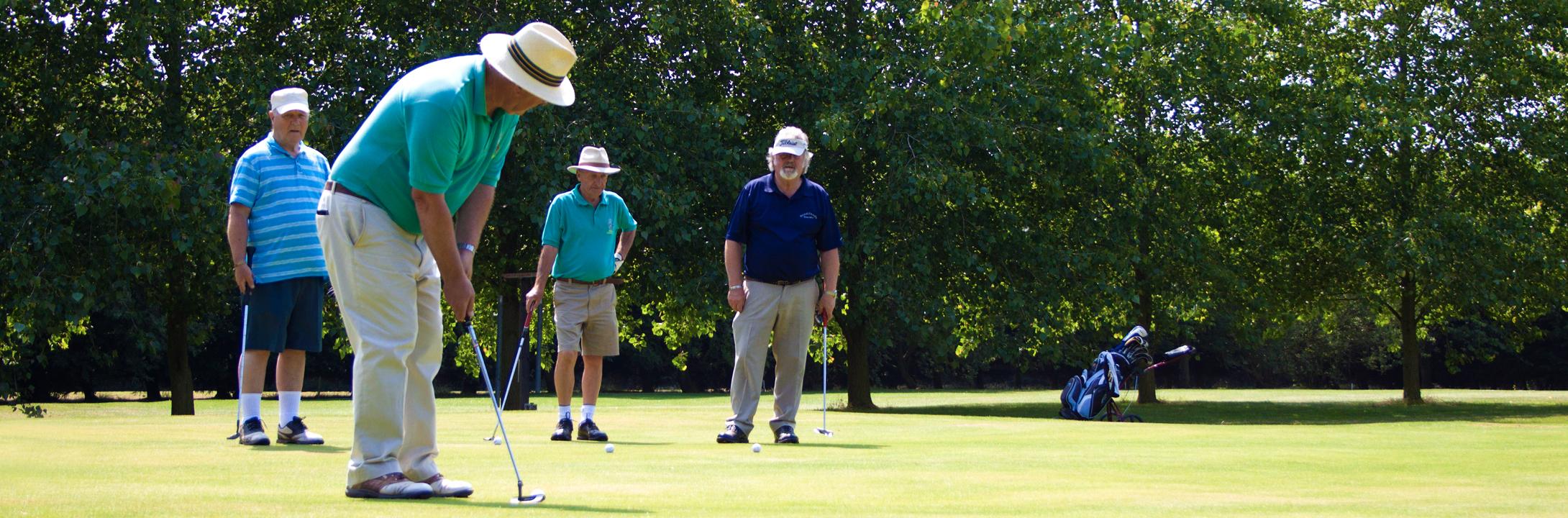Golf at Woodthorpe Leisure Park