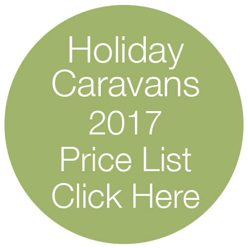 Caravan Holiday Price List