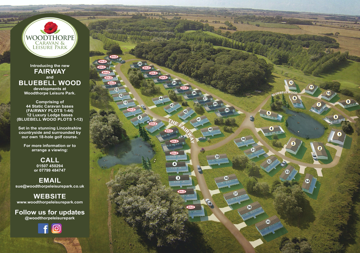 caravan site lincolnshire, holiday park lincolnshire
