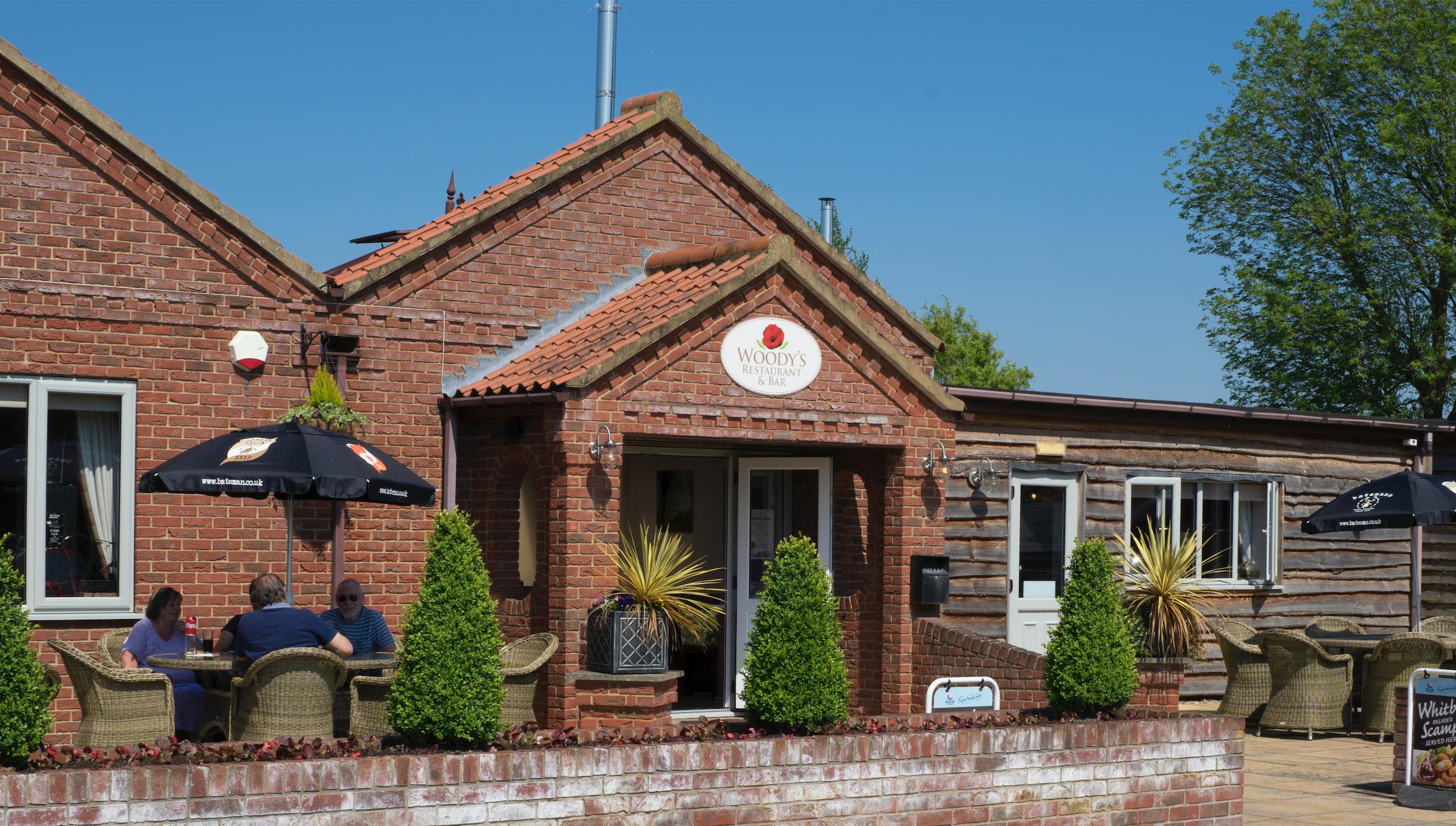 woodys restaurant, caravan park lincolnshire