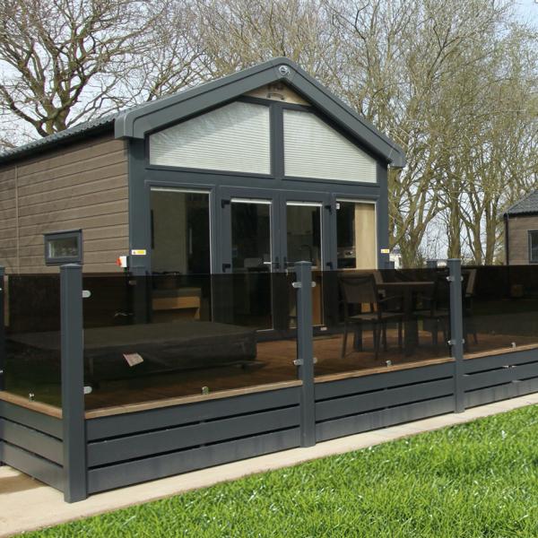 Acorn Lodges at Woodthorpe Leisure Park